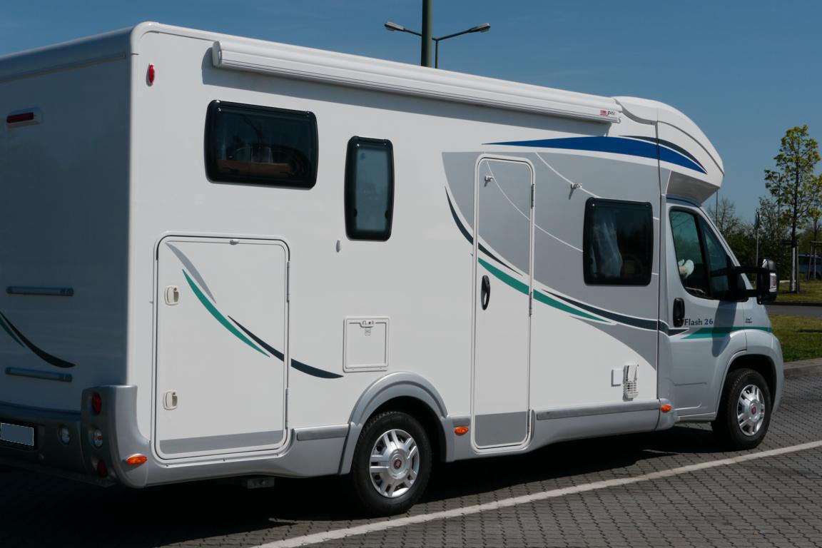 Chausson Fiat große Garage unter dem Doppelbett