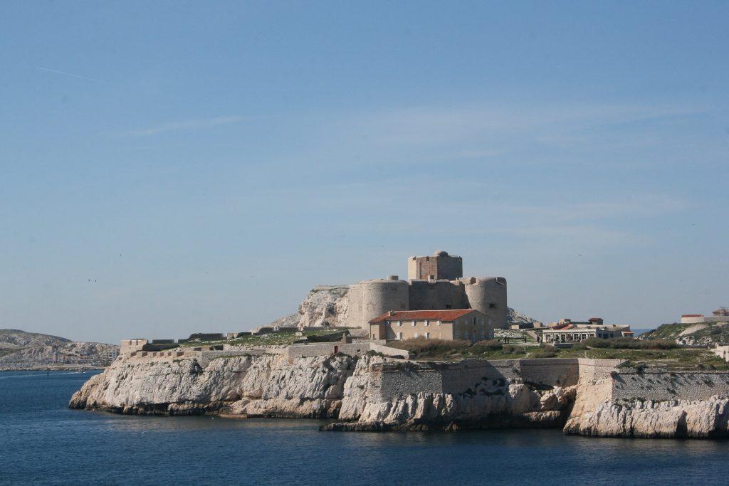 Chateau d'If vor den Toren von Marseille