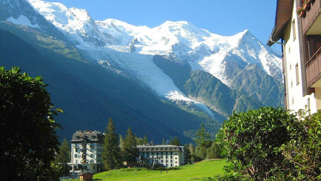 Chamonix - Blick auf den Mont-Blanc